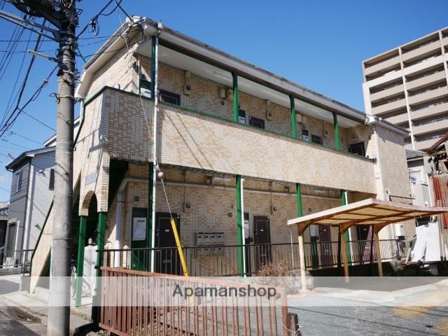 埼玉県所沢市、西所沢駅徒歩12分の築24年 2階建の賃貸アパート