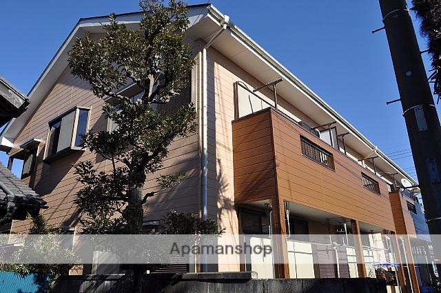 埼玉県八潮市、八潮駅徒歩18分の築23年 2階建の賃貸アパート