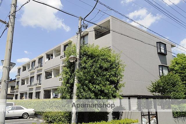 埼玉県八潮市、草加駅バス7分上馬場下車後徒歩1分の築21年 3階建の賃貸マンション