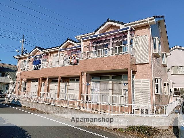 埼玉県八潮市、草加駅バス15分八幡小学校前下車後徒歩3分の築26年 2階建の賃貸アパート