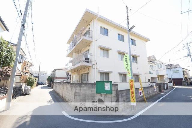 埼玉県八潮市、八潮駅徒歩23分の築38年 3階建の賃貸マンション