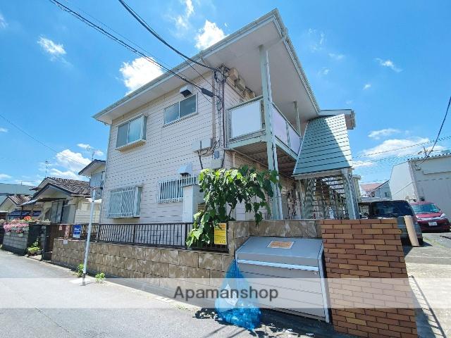埼玉県八潮市、越谷レイクタウン駅徒歩76分の築28年 2階建の賃貸アパート