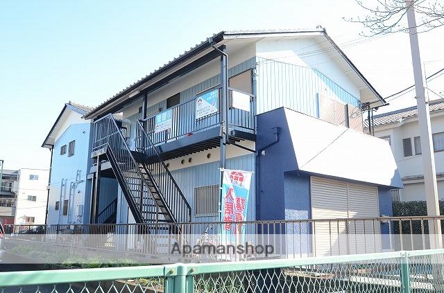 埼玉県八潮市、綾瀬駅バス31分大原下車後徒歩8分の築31年 2階建の賃貸アパート