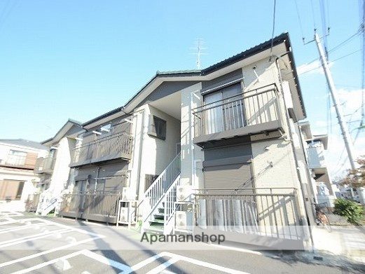 埼玉県八潮市、八潮駅徒歩18分の築9年 2階建の賃貸アパート