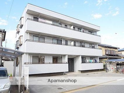 埼玉県八潮市、八潮駅徒歩15分の築28年 3階建の賃貸アパート
