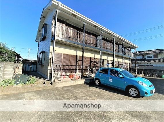 埼玉県八潮市、草加駅バス16分上二丁目下車後徒歩2分の築29年 2階建の賃貸アパート