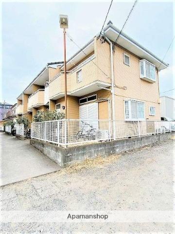 埼玉県八潮市、草加駅バス10分西田下車後徒歩2分の築19年 2階建の賃貸テラスハウス