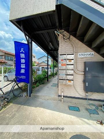 埼玉県八潮市、草加駅バス15分鶴ケ曽根北下車後徒歩1分の築14年 2階建の賃貸アパート