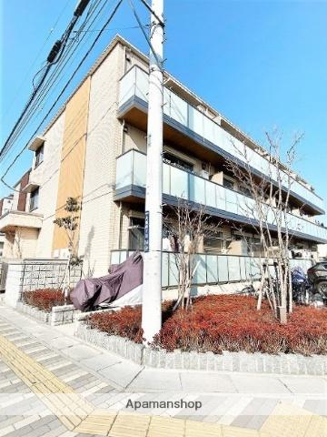 埼玉県八潮市、八潮駅徒歩8分の新築 3階建の賃貸マンション
