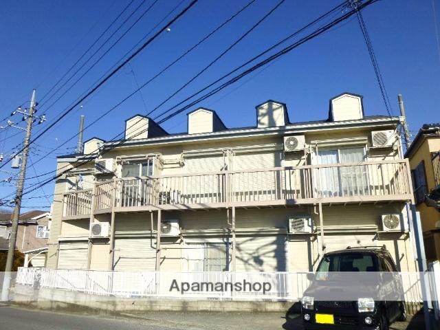 千葉県千葉市中央区、千葉駅バス20分大森町下車後徒歩4分の築25年 2階建の賃貸アパート
