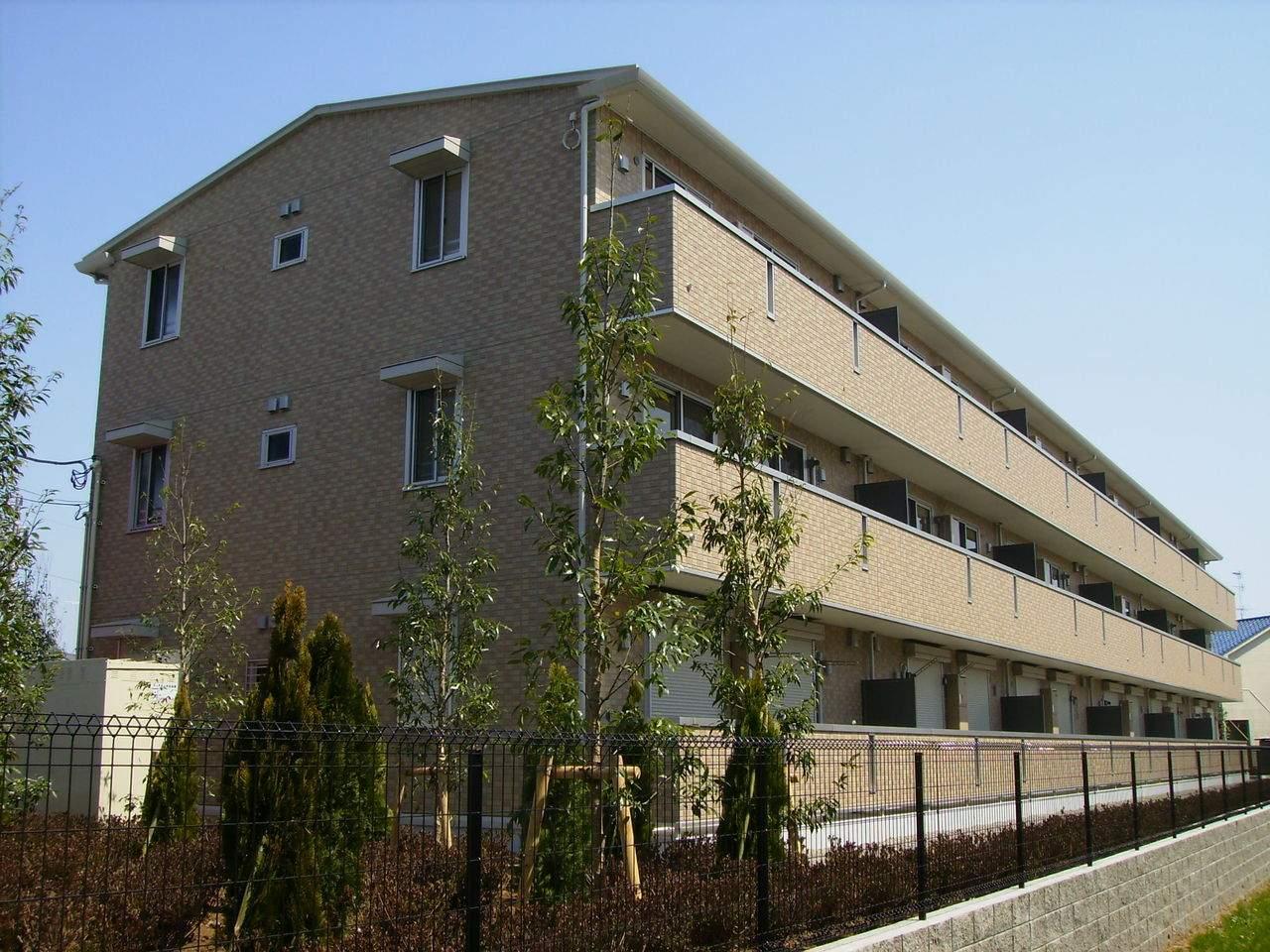 千葉県千葉市稲毛区、四街道駅徒歩24分の築7年 3階建の賃貸アパート