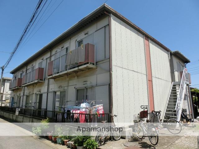 千葉県千葉市中央区、千葉駅バス6分鶴沢町下車後徒歩5分の築33年 2階建の賃貸アパート