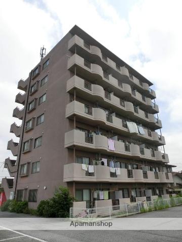 千葉県千葉市若葉区、都賀駅徒歩18分の築23年 7階建の賃貸マンション