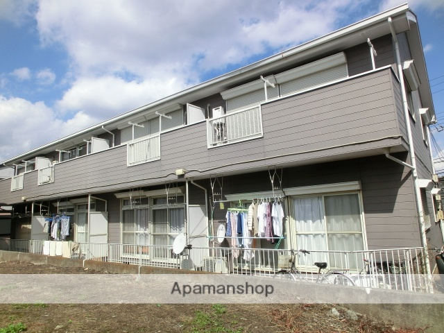千葉県千葉市若葉区、千葉駅バス10分高品下車後徒歩2分の築25年 2階建の賃貸アパート