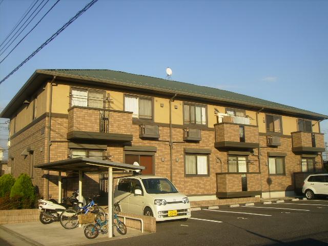 千葉県四街道市、物井駅徒歩18分の築13年 2階建の賃貸アパート