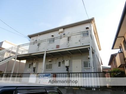 千葉県四街道市、千葉駅バス18分自衛隊下車後徒歩11分の築25年 2階建の賃貸アパート