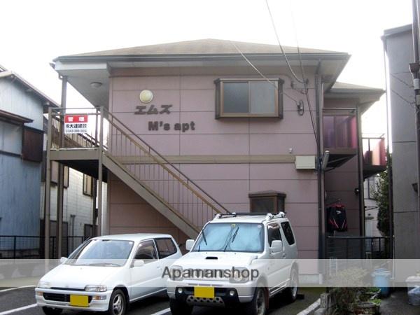 千葉県千葉市中央区、千葉駅バス5分郷土館下車後徒歩1分の築21年 2階建の賃貸アパート