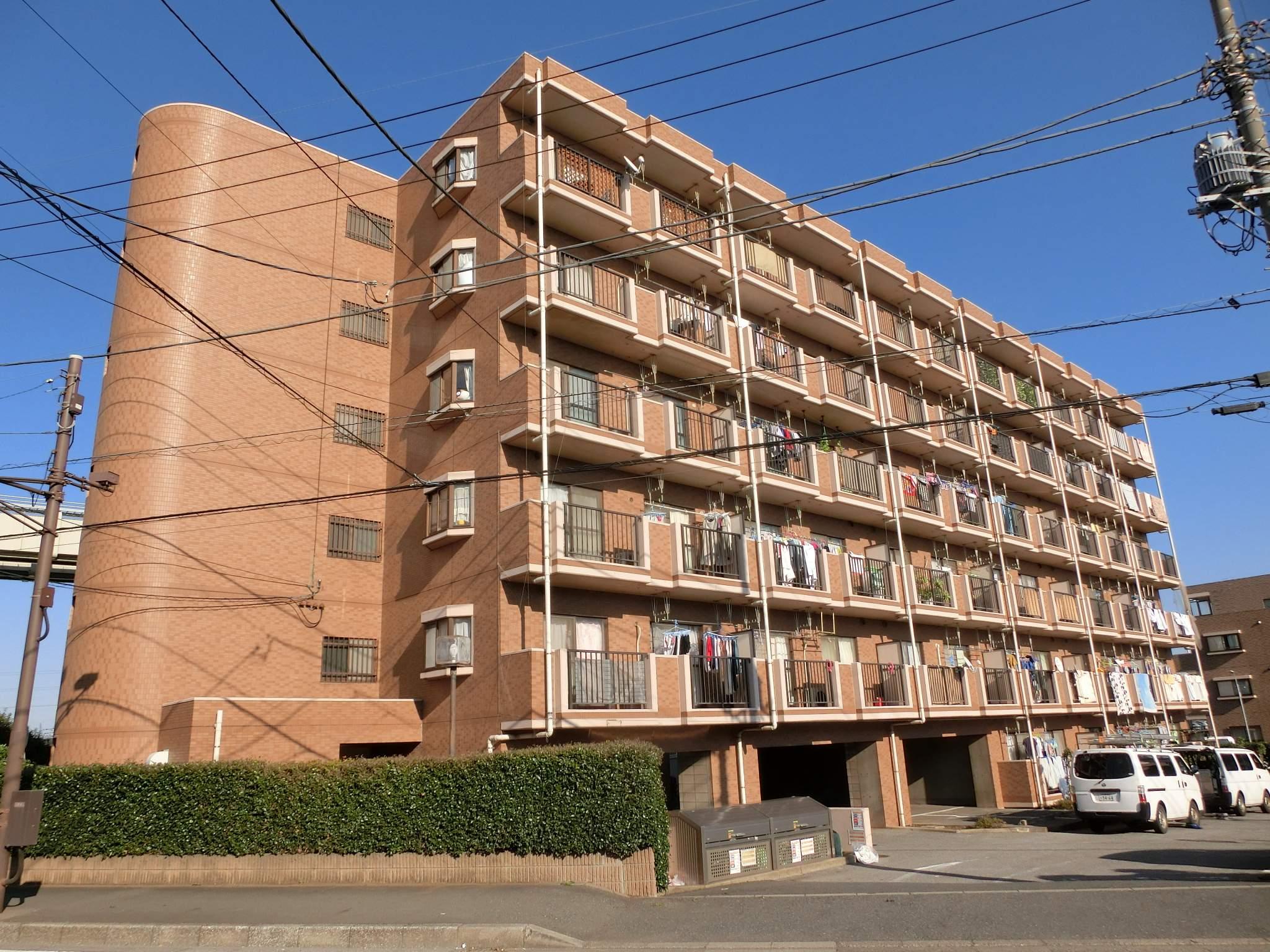 千葉県千葉市若葉区、都賀駅徒歩10分の築22年 6階建の賃貸マンション