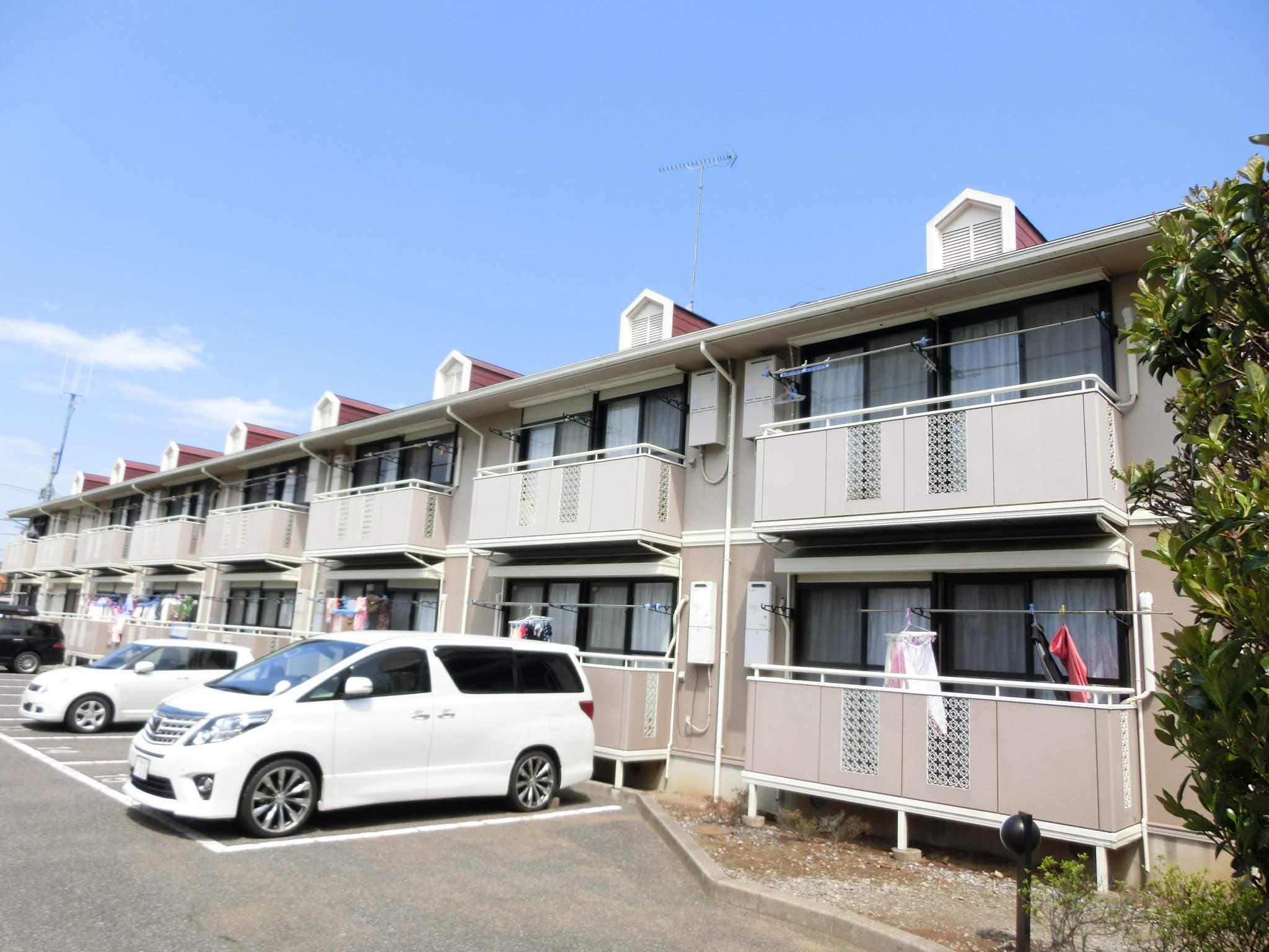千葉県四街道市、四街道駅徒歩14分の築21年 2階建の賃貸アパート