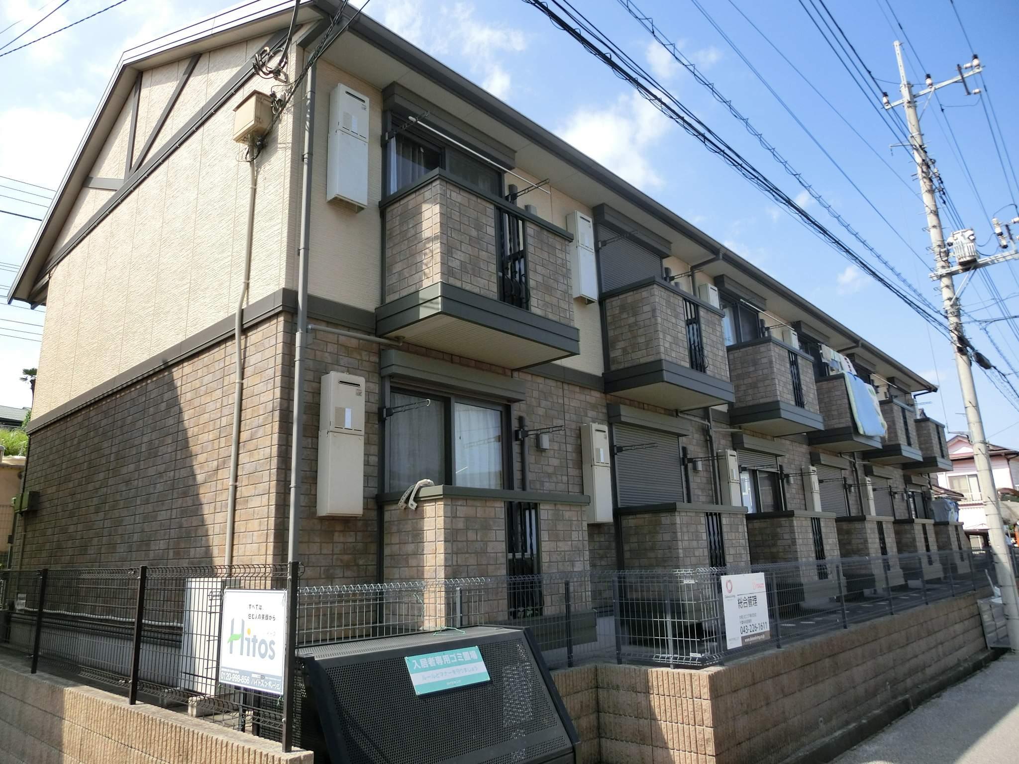 千葉県四街道市、四街道駅徒歩11分の築10年 2階建の賃貸アパート