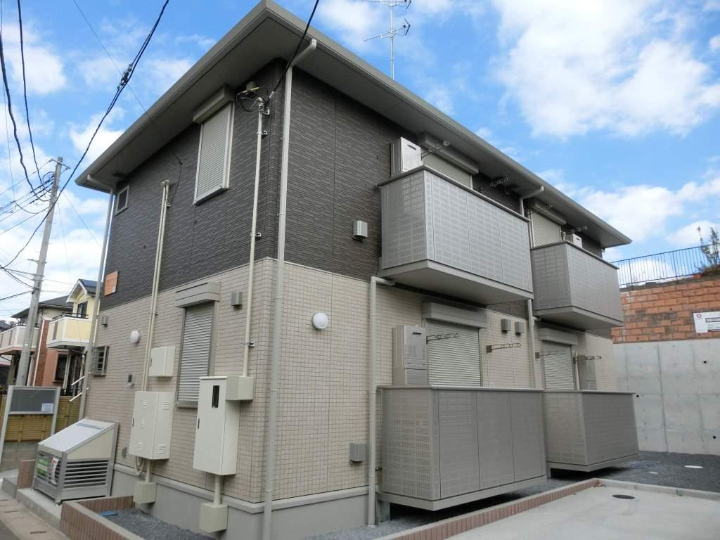 千葉県千葉市若葉区、千葉駅バス15分高品坂下下車後徒歩3分の築1年 2階建の賃貸アパート