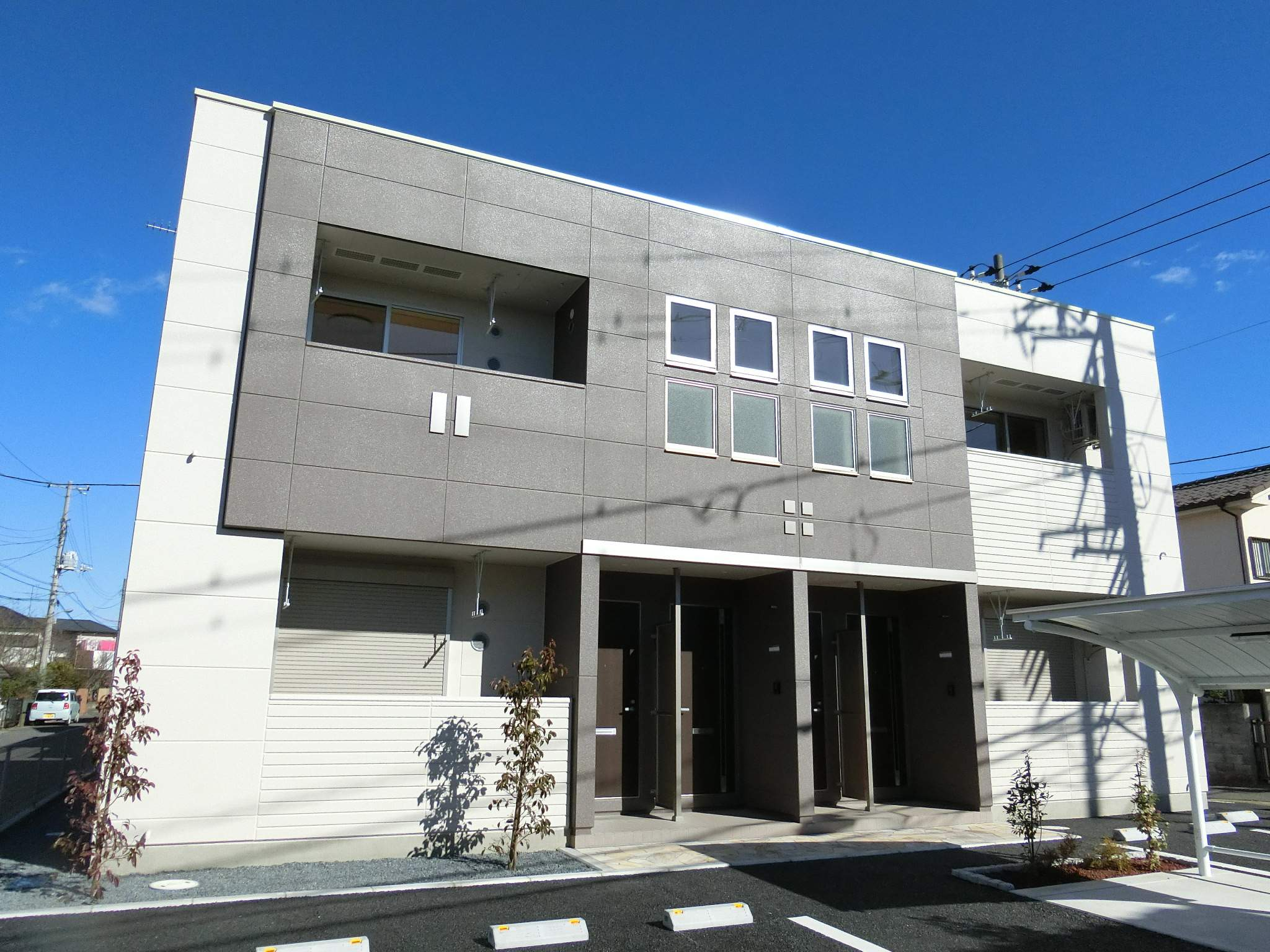 千葉県千葉市若葉区、都賀駅徒歩14分の新築 2階建の賃貸アパート