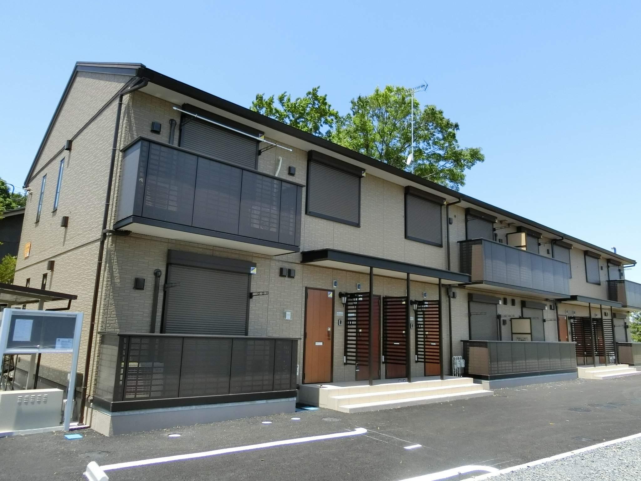千葉県四街道市、千城台北駅徒歩9分の新築 2階建の賃貸アパート