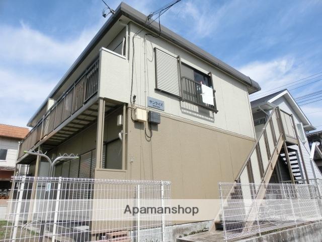 千葉県千葉市若葉区、都賀駅徒歩13分の築30年 2階建の賃貸アパート