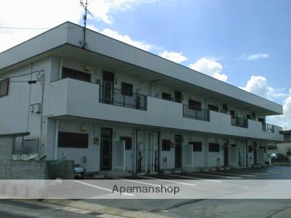 千葉県東金市、成東駅バス13分金半前下車後徒歩11分の築27年 2階建の賃貸アパート