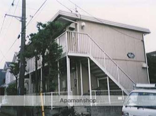 千葉県千葉市若葉区、千城台駅徒歩5分の築25年 2階建の賃貸アパート