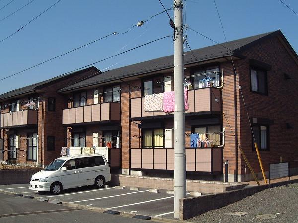 千葉県四街道市、四街道駅徒歩23分の築19年 2階建の賃貸アパート