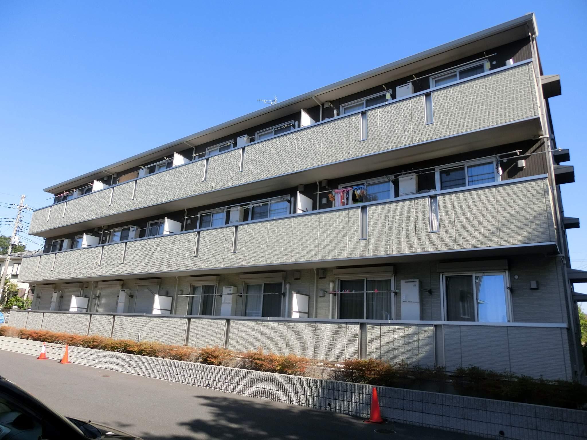 千葉県千葉市若葉区、千葉駅バス19分西小倉下車後徒歩3分の築6年 3階建の賃貸アパート