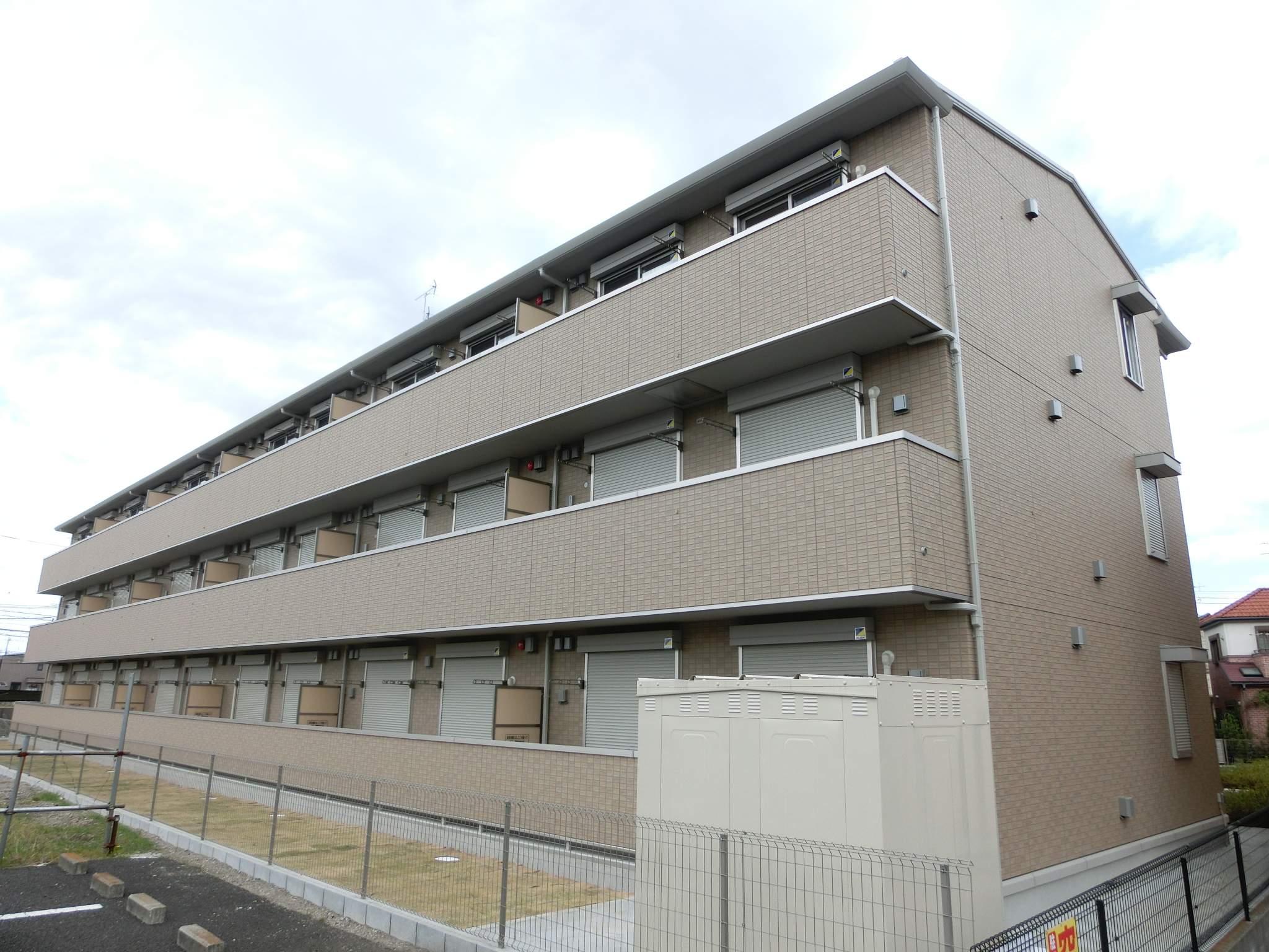 千葉県千葉市稲毛区、四街道駅徒歩24分の築3年 3階建の賃貸マンション