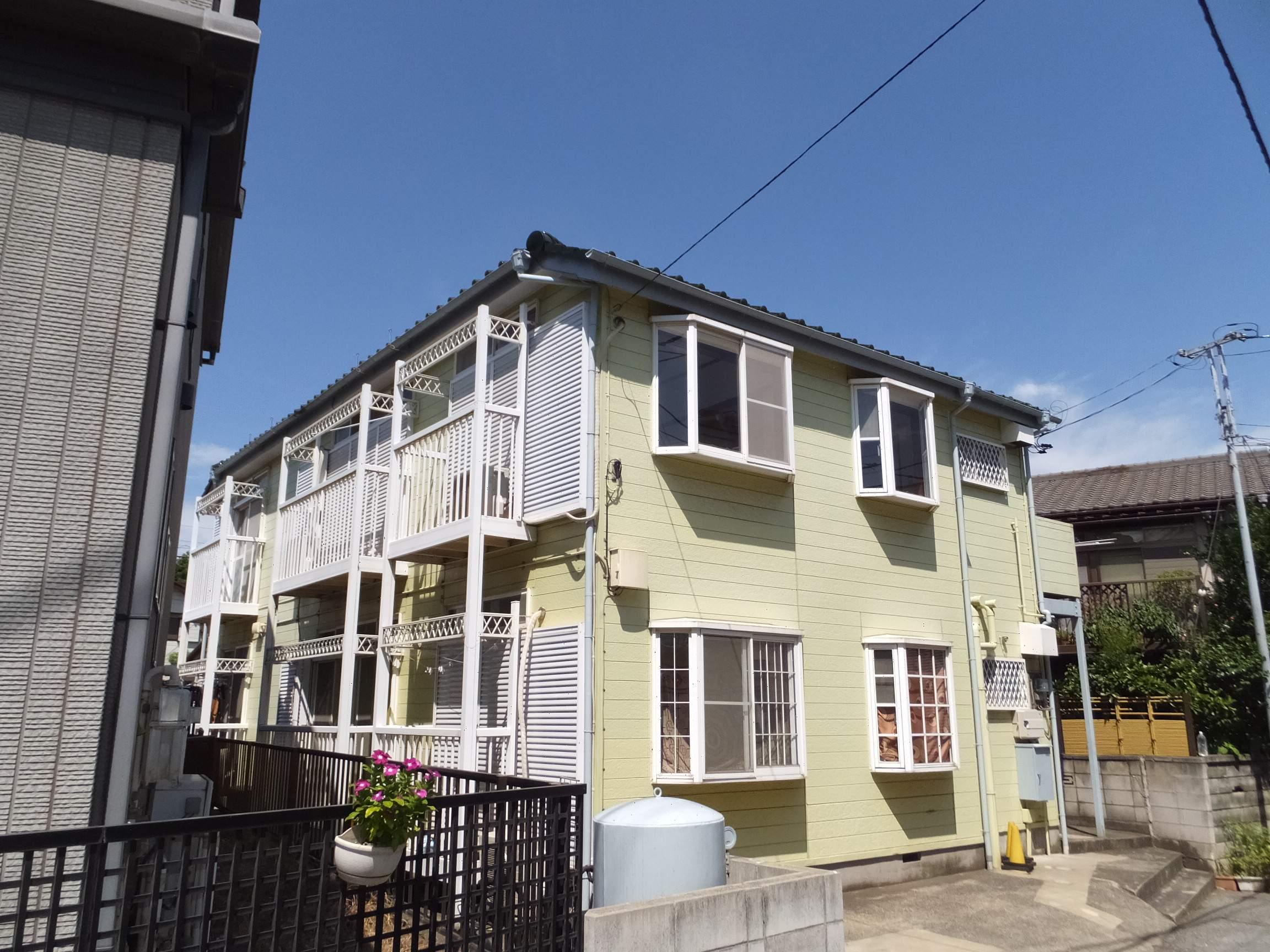 千葉県千葉市中央区、本千葉駅徒歩18分の築27年 2階建の賃貸アパート