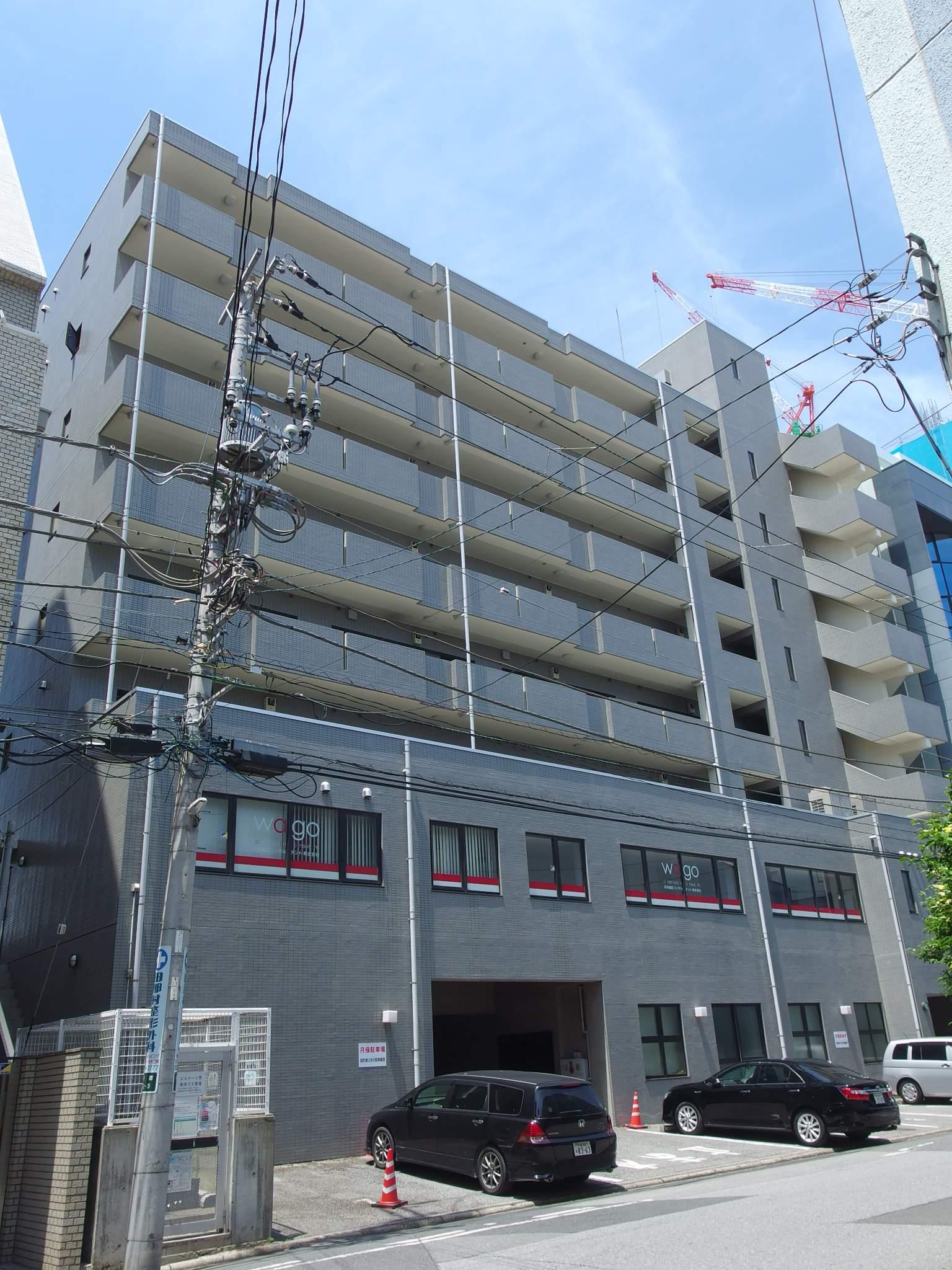 千葉県千葉市中央区、千葉駅徒歩9分の築21年 8階建の賃貸マンション