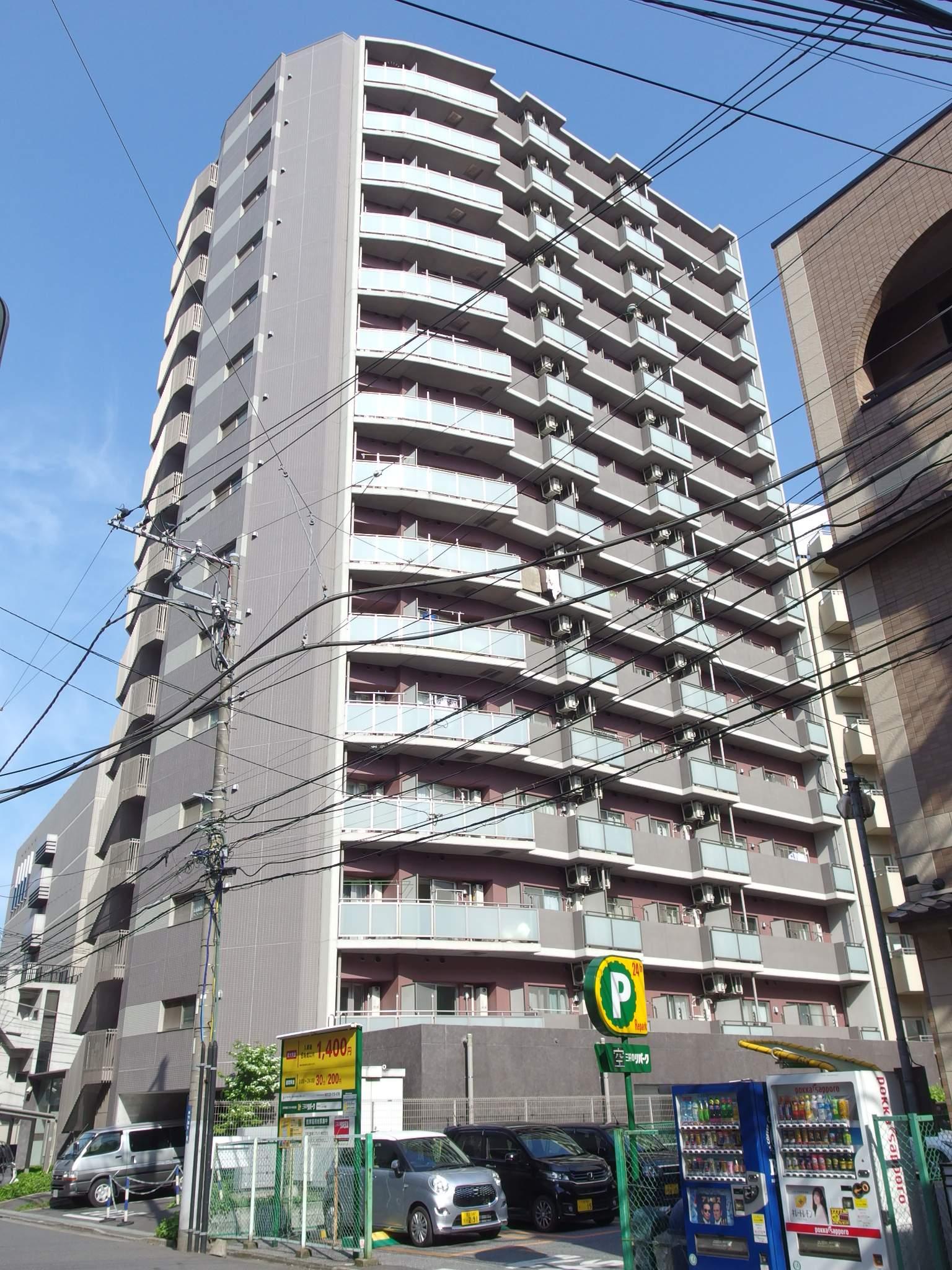 千葉県千葉市中央区、千葉駅徒歩13分の築8年 15階建の賃貸マンション