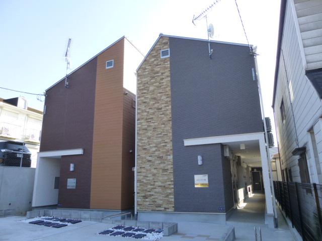 千葉県千葉市中央区、蘇我駅徒歩10分の築3年 2階建の賃貸アパート