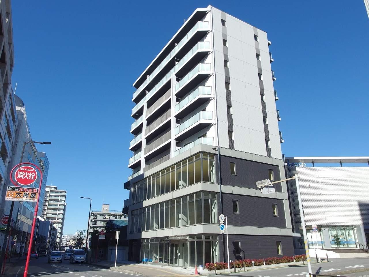 千葉県千葉市中央区、千葉駅徒歩2分の新築 9階建の賃貸マンション