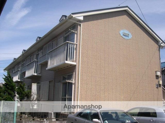 千葉県千葉市中央区、千葉駅徒歩17分の築29年 2階建の賃貸アパート