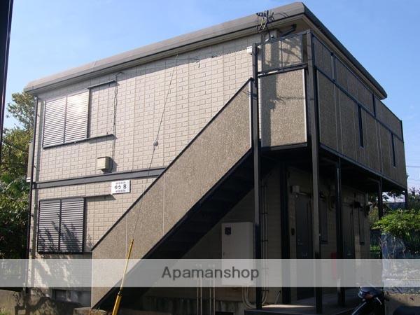 千葉県四街道市、四街道駅徒歩10分の築17年 2階建の賃貸アパート