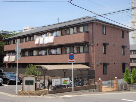 千葉県千葉市稲毛区、稲毛駅徒歩19分の築12年 3階建の賃貸アパート