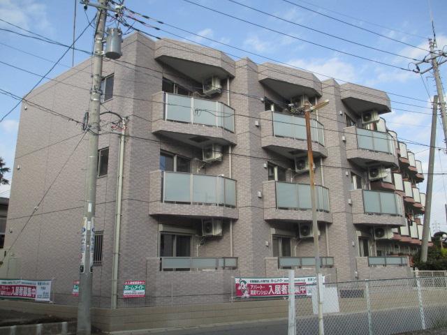 千葉県千葉市中央区、千葉駅徒歩14分の築3年 3階建の賃貸マンション