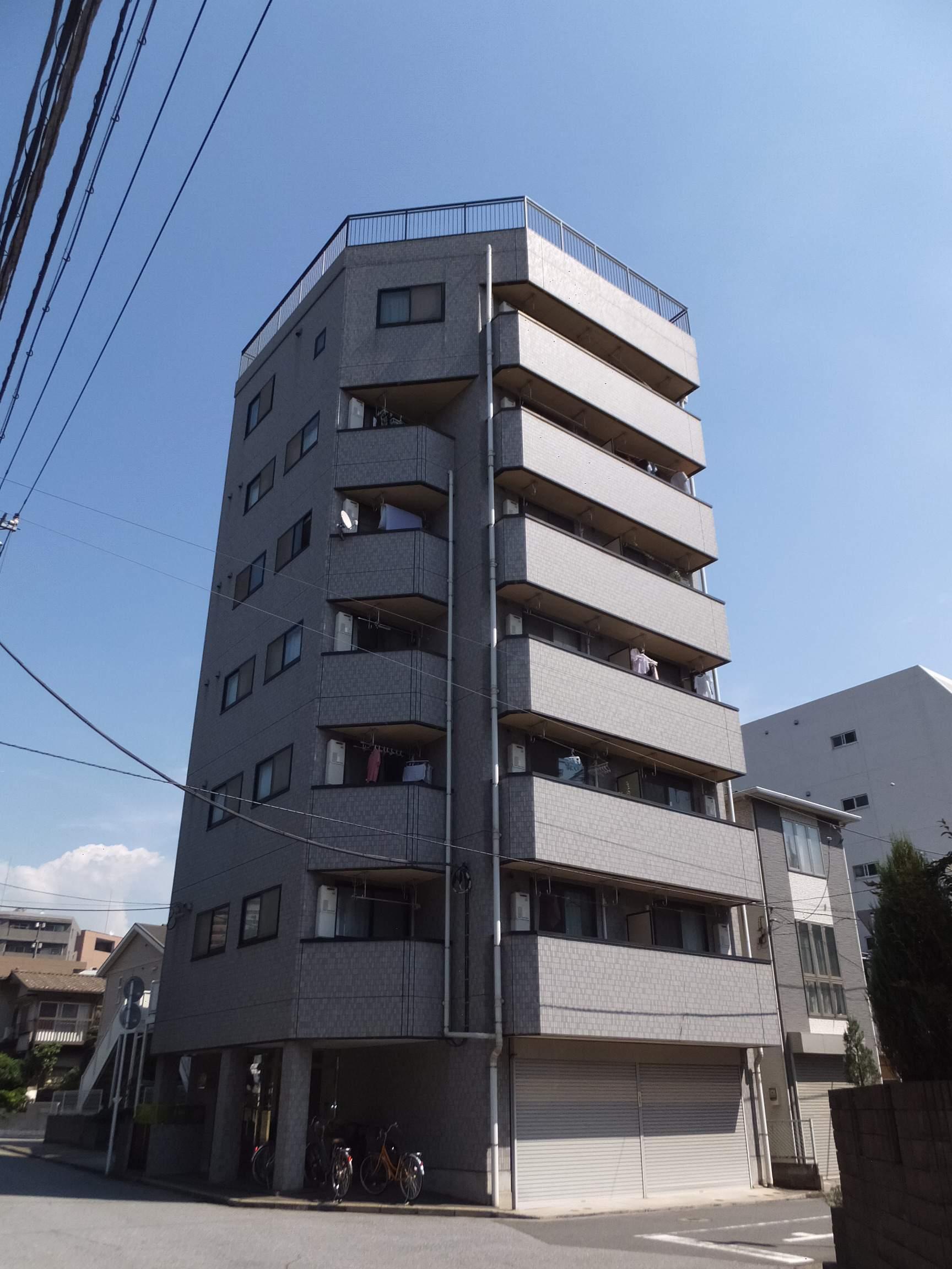 千葉県千葉市中央区、千葉駅徒歩9分の築15年 7階建の賃貸マンション
