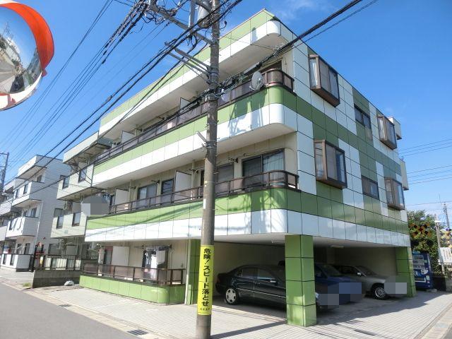 千葉県四街道市、千葉駅バス29分四街道十字路下車の築26年 3階建の賃貸マンション