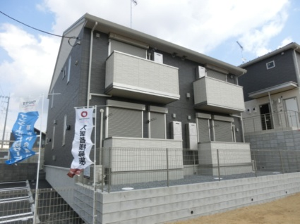 千葉県四街道市、物井駅徒歩10分の新築 2階建の賃貸アパート