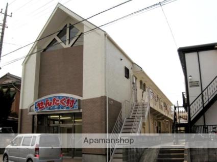 千葉県千葉市若葉区、千葉駅バス11分北貝塚下車後徒歩6分の築25年 2階建の賃貸アパート