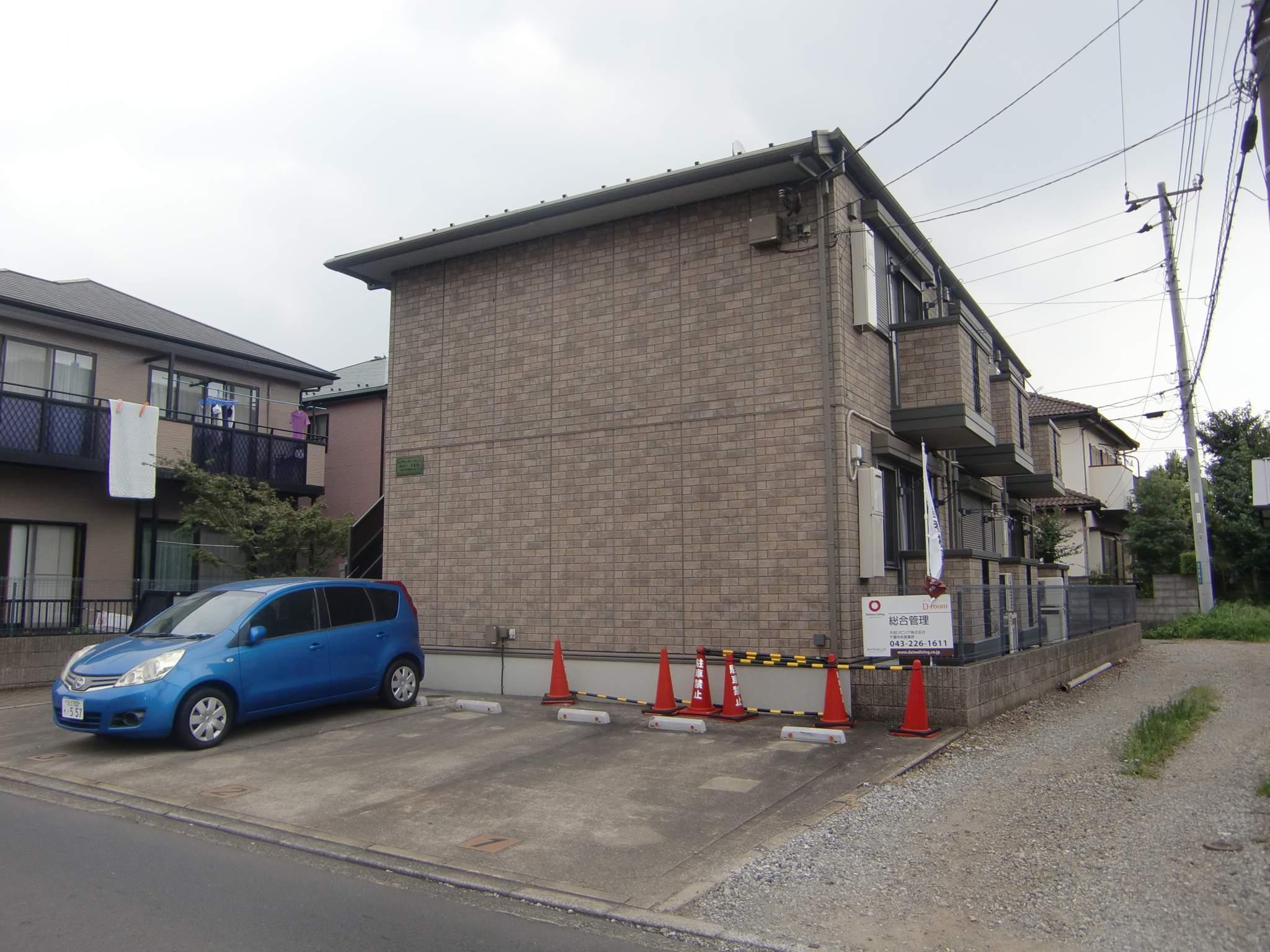 千葉県千葉市中央区、西千葉駅徒歩8分の築13年 2階建の賃貸アパート