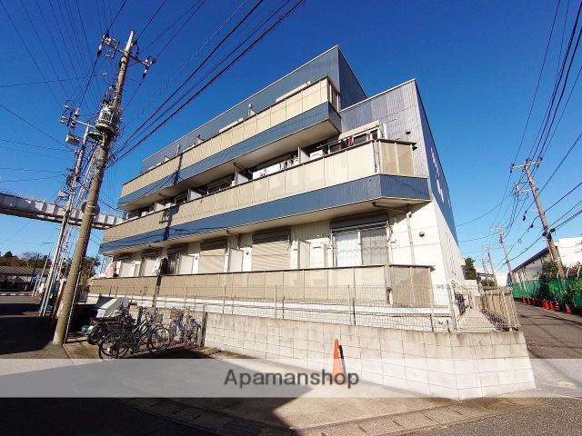 千葉県千葉市稲毛区、稲毛駅徒歩20分の築9年 3階建の賃貸アパート