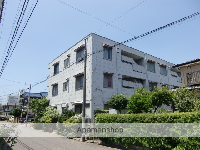 千葉県千葉市稲毛区、西千葉駅徒歩11分の築27年 3階建の賃貸マンション