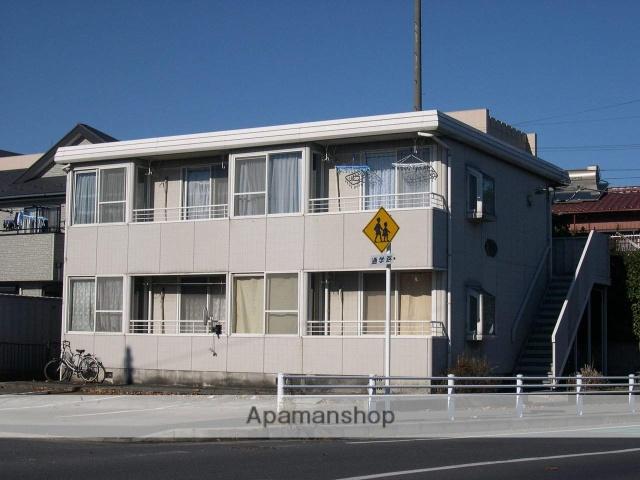 千葉県千葉市若葉区、千葉駅バス8分北貝塚下車後徒歩3分の築28年 2階建の賃貸アパート
